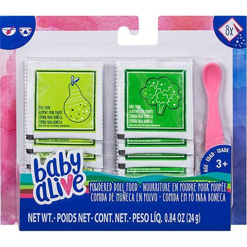 Baby Alive Kit Refil Comida Em Pó Para Boneca E0302 - Hasbro