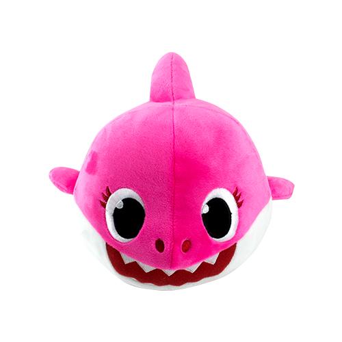 Baby Shark Pelúcia Que Me Abraça Rosa - Sunny 2351