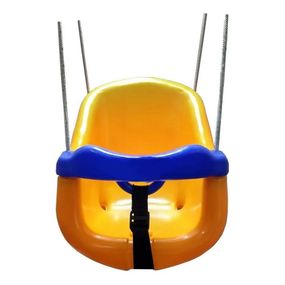 Balanço Infantil Amarelo - BB Bolinhas 502