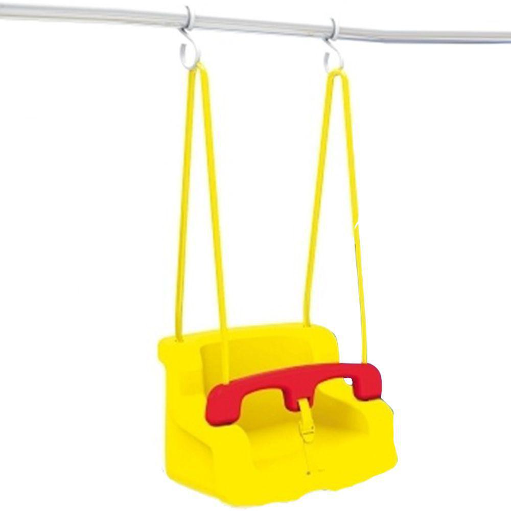 Balanço Infantil Amarelo e Vermelho  - Xalingo 02876