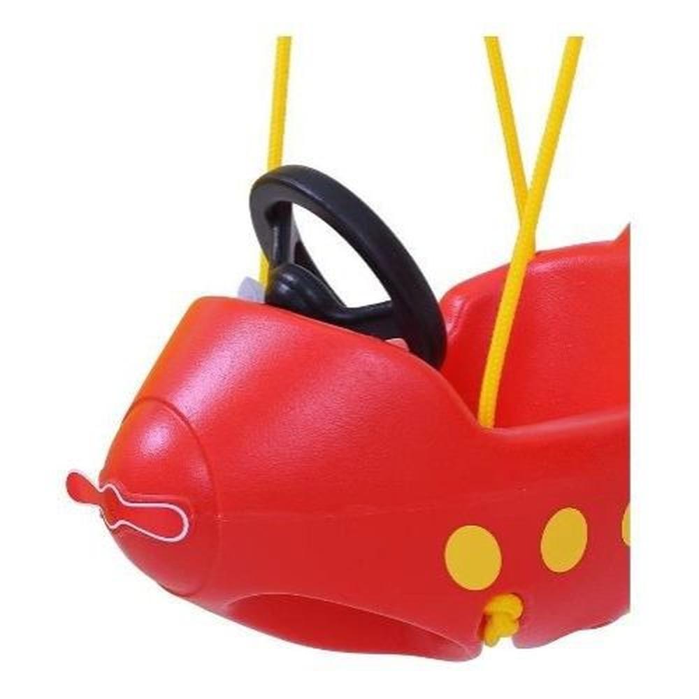 Balanço Infantil Avião Vermelho 09343 - Xalingo