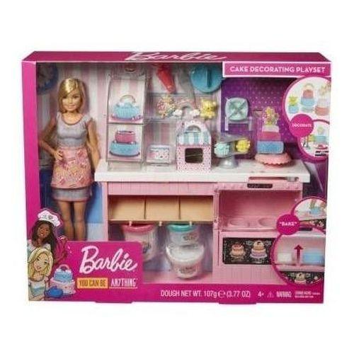 Barbie Decoração De Bolo Playset Gfp59 - Mattel