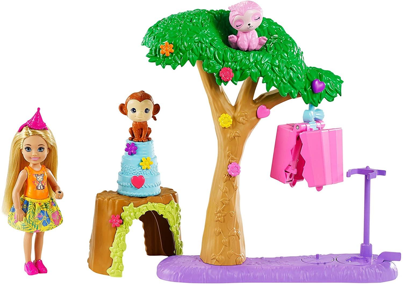 Barbie Dreamhouse Adventures Chelsea Festa Na Selva - Mattel GTM840