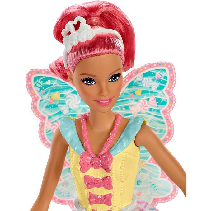 Barbie Dreamtopia Fadas Rosa FXT00/FXT03 - Mattel