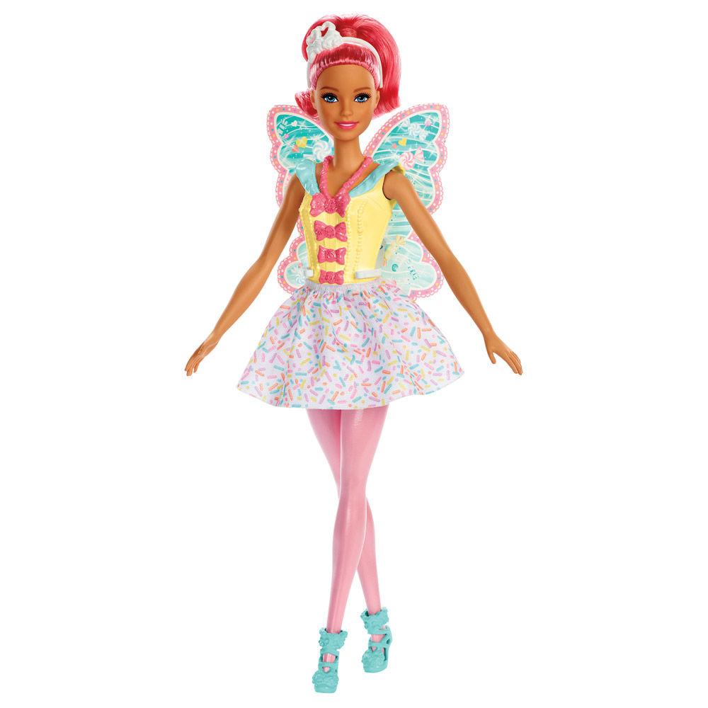 Barbie Dreamtopia Fadas Rosa  - Mattel FXT00/FXT03