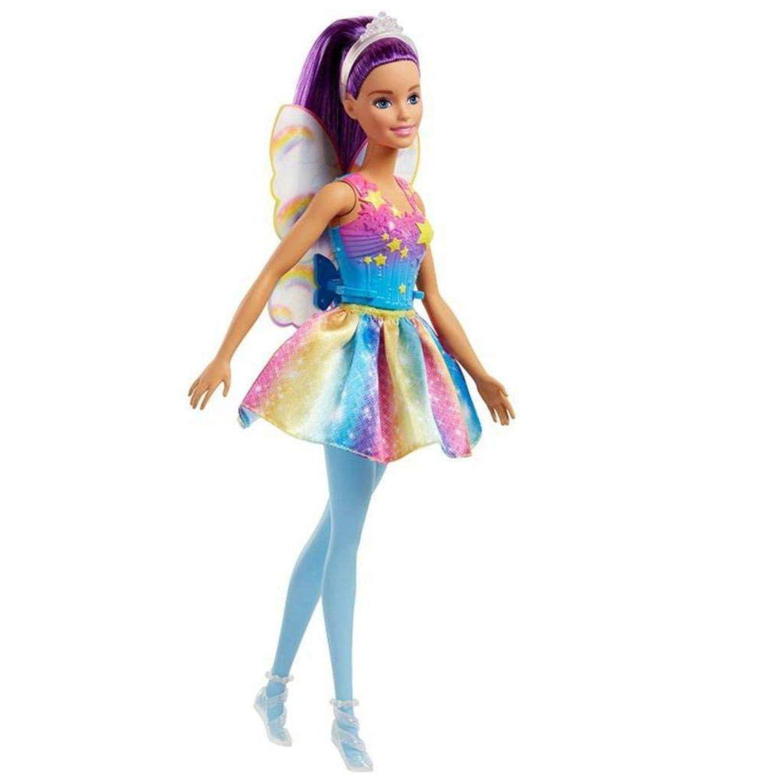 Barbie Fada Roxa - Mattel Fjc85