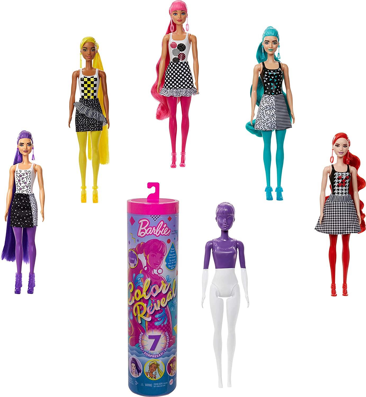 Barbie Fashionista Color Reveal Monocromática - Mattel GWC56