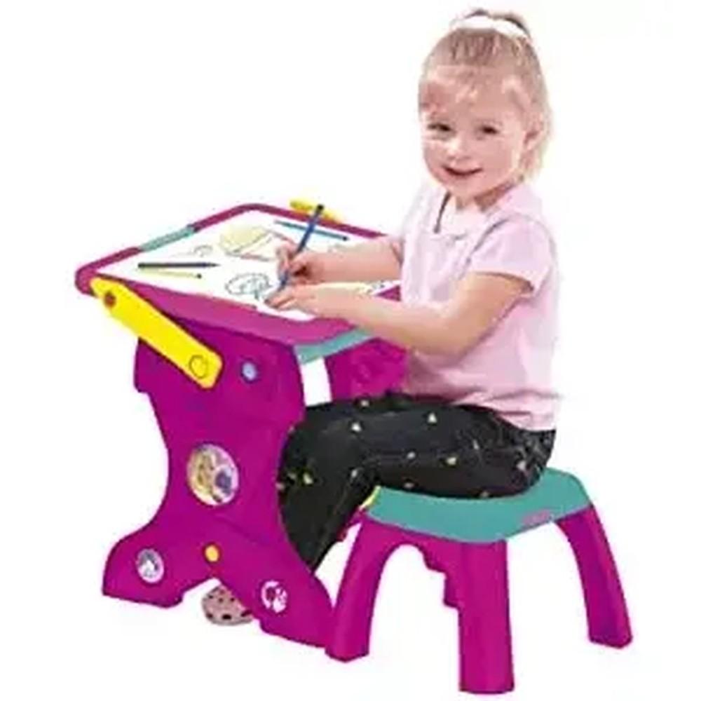 Barbie Mesa Educativa 2 Em 1 - Fun F0027-6