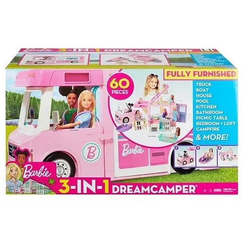 Barbie Trailer dos Sonhos 3 em 1 - Mattel GHL93