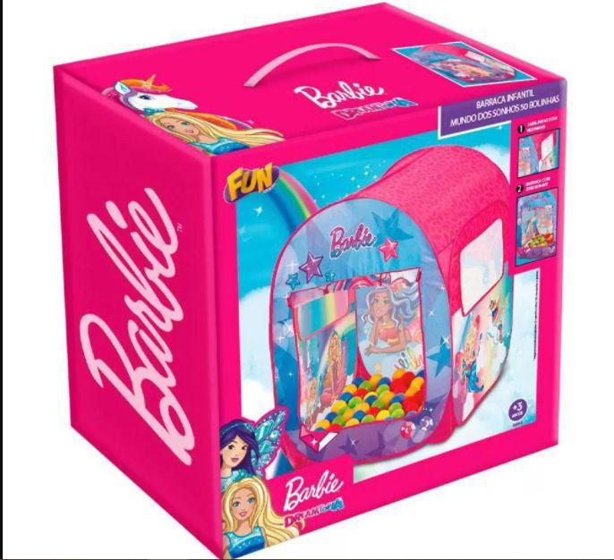 Barraca Barbie Dreamtopia Mundo dos Sonhos - Fun F00068
