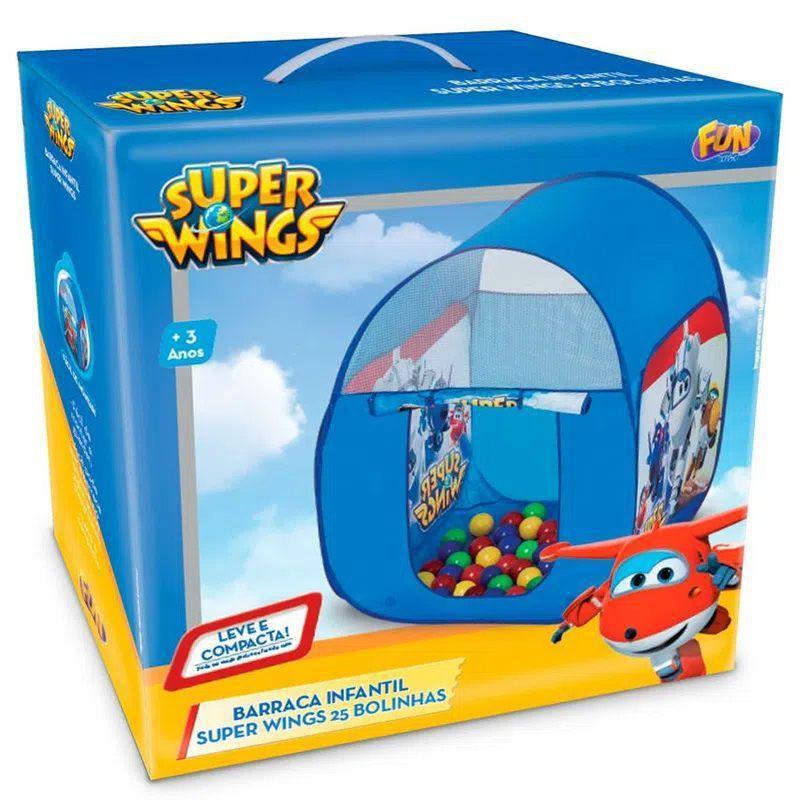 Barraca Infantil Super Wings Com 25 Bolinhas - Fun F00074