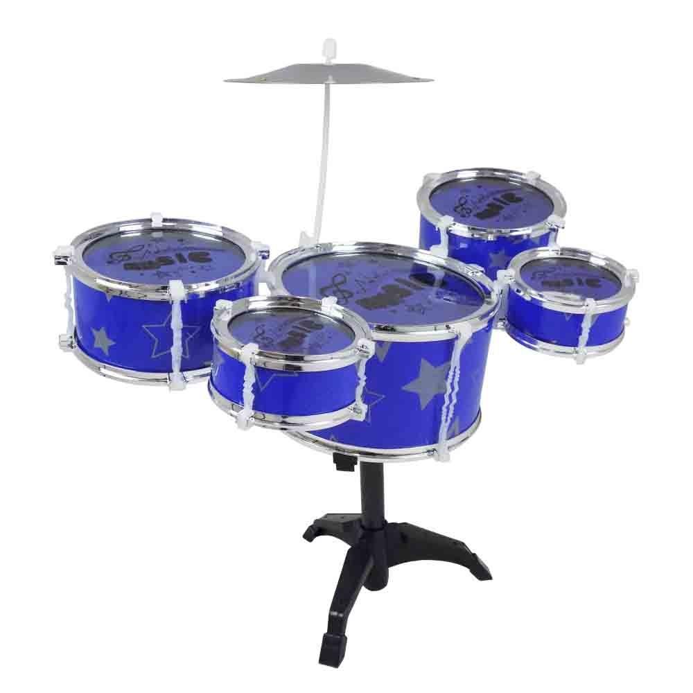 Bateria Musical Azul BT381 - Fenix