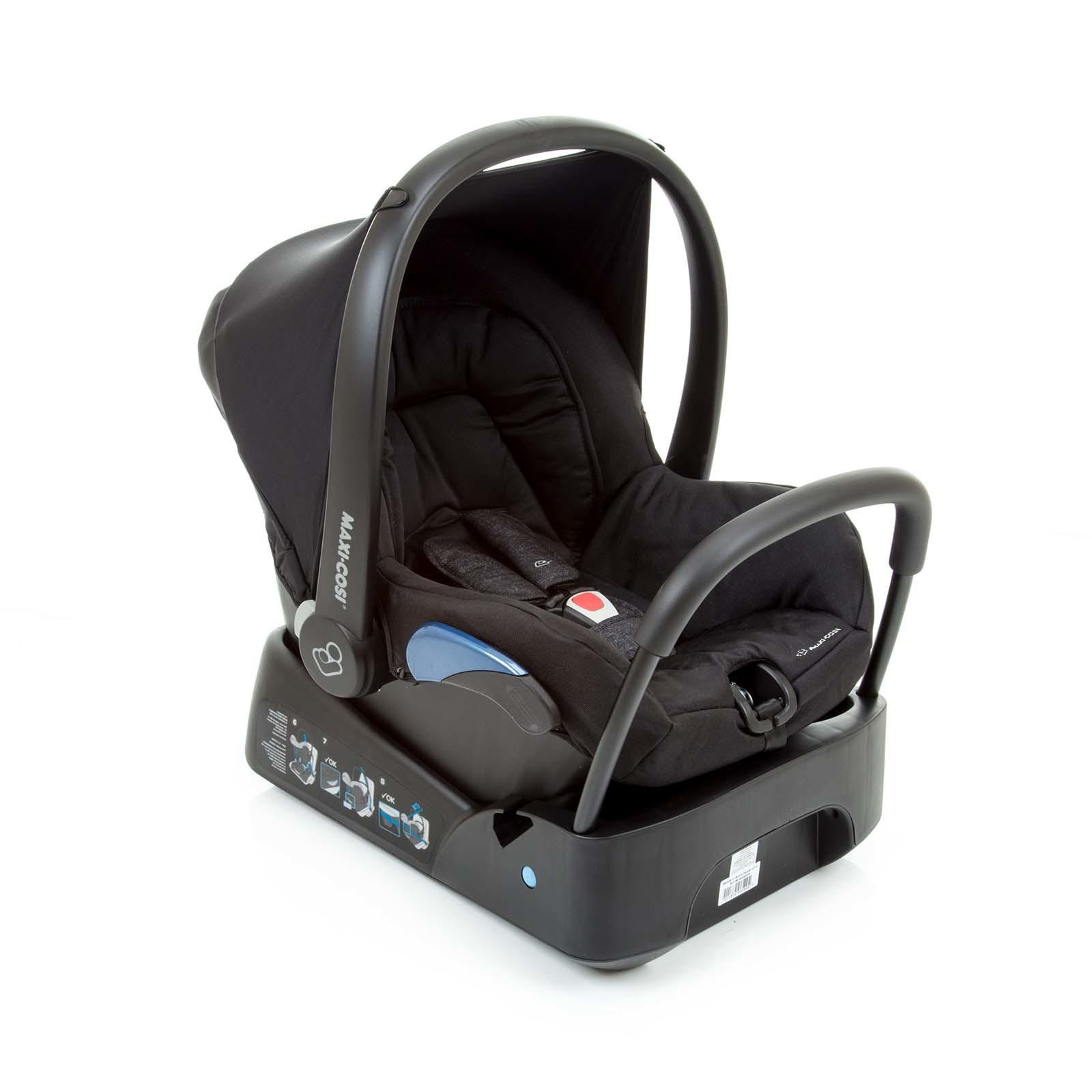 Bebê Conforto Citi C/Base Nomad Black - Maxi Cosi CAX90266