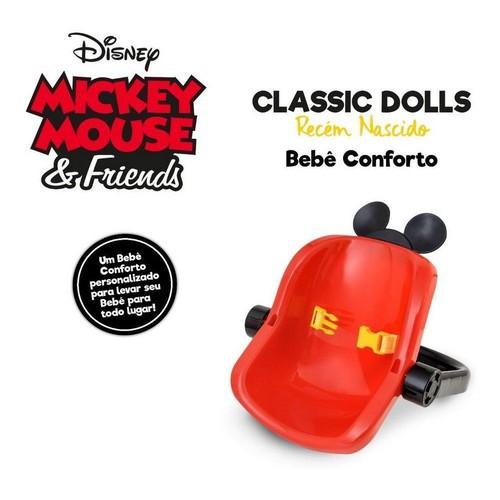 Bebê Conforto Classic Dolls Mickey Mouse Roma 5169