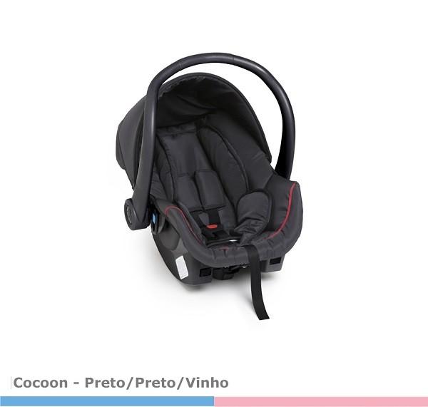 Bebê Conforto Cocoon Preto - Galzerano 8181DPT
