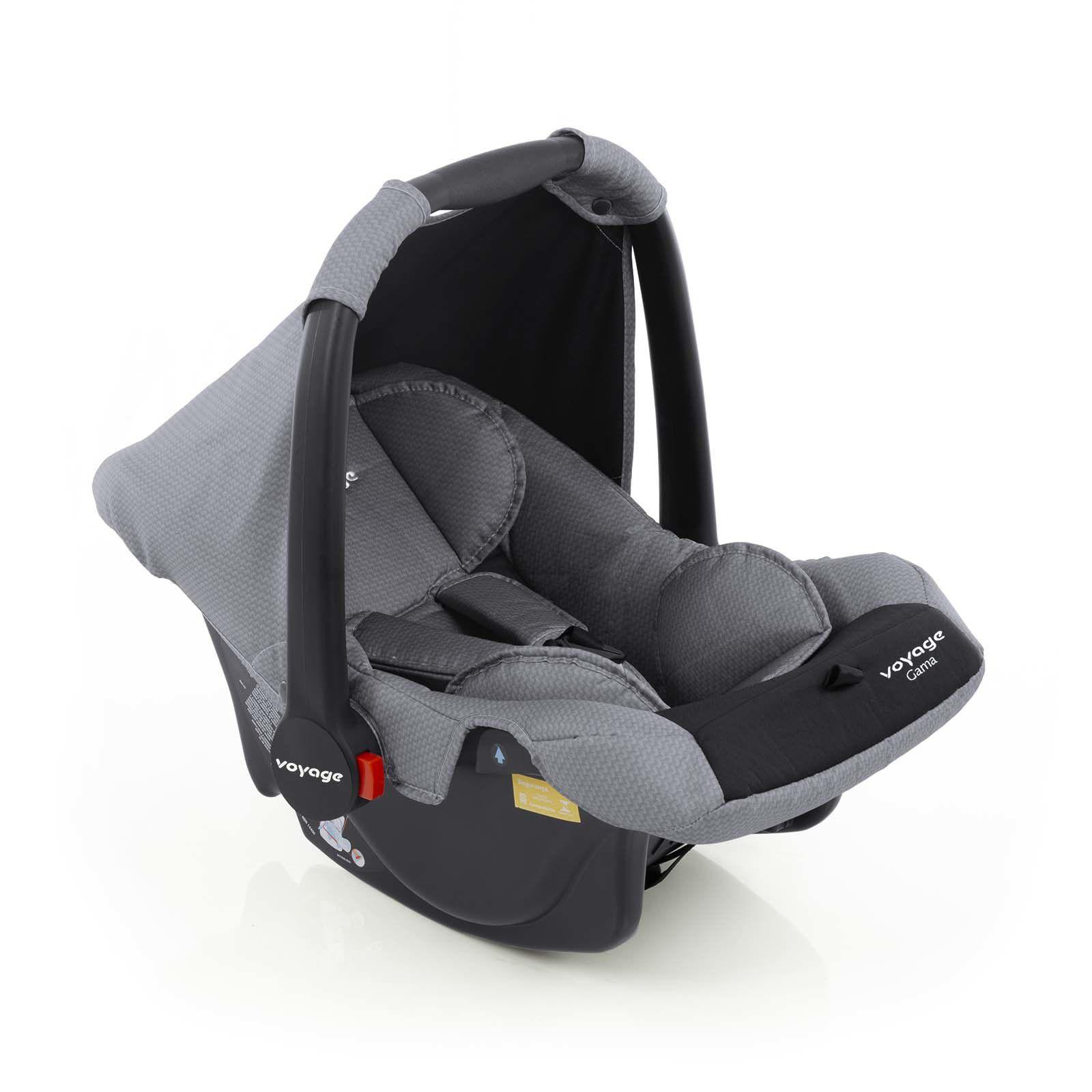 Bebê Conforto Gama Cinza Grid - Voyage IMP01653