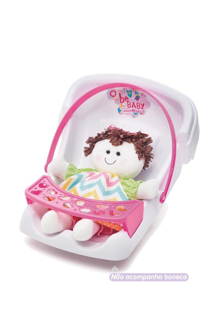 Bebê Conforto Imaginativa Bebaby Branco - TaTeTi 215