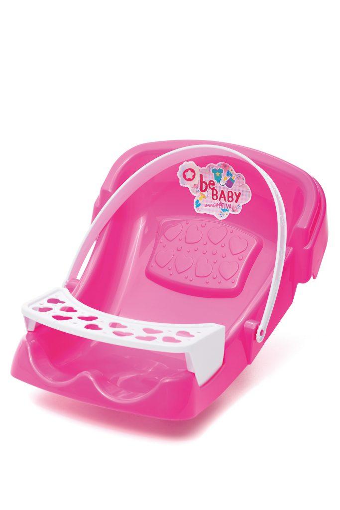 Bebê Conforto Imaginativa Bebaby Rosa - TaTeTi 215