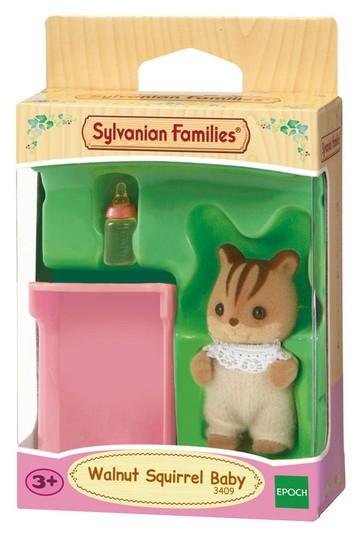 Bebê Esquilo Noz Sylvanian Families - Epoch 5065