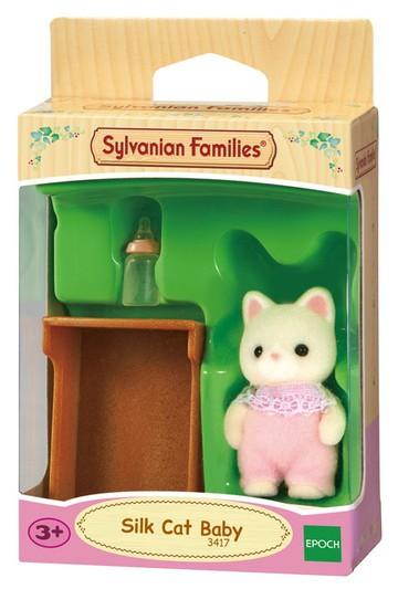 Bebê Gato de Seda Sylvanian Families - Epoch 5066