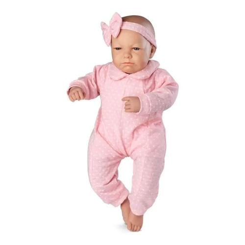 Bebê Real Expressões Quero Carrinho Vinil - Roma 5084
