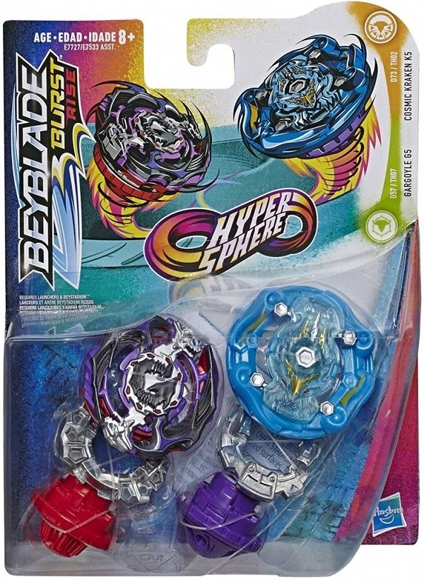 Beyb. Hypersphere D Cosmic Kraken Gargo. Hasbro E7727/E7533