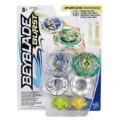 Beyblade Burst  Pack Com 2 Kerbeus e Yegdrion C0597/B9491 - Hasbro