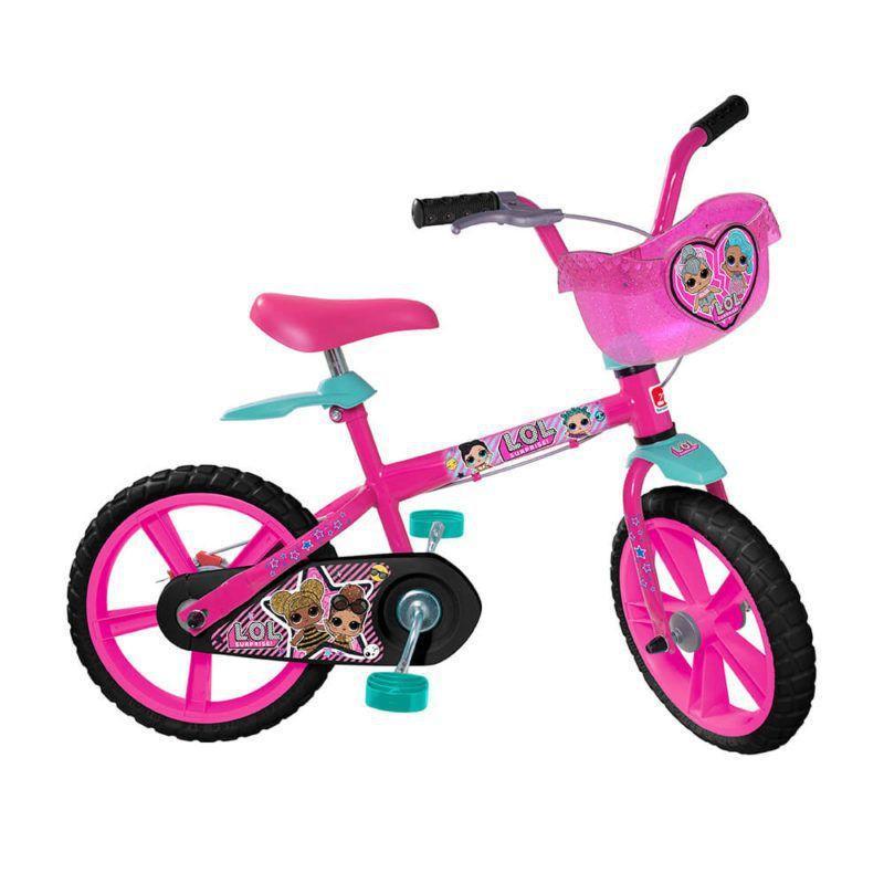 Bicicleta Aro 14 LOL - Bandeirante 3303