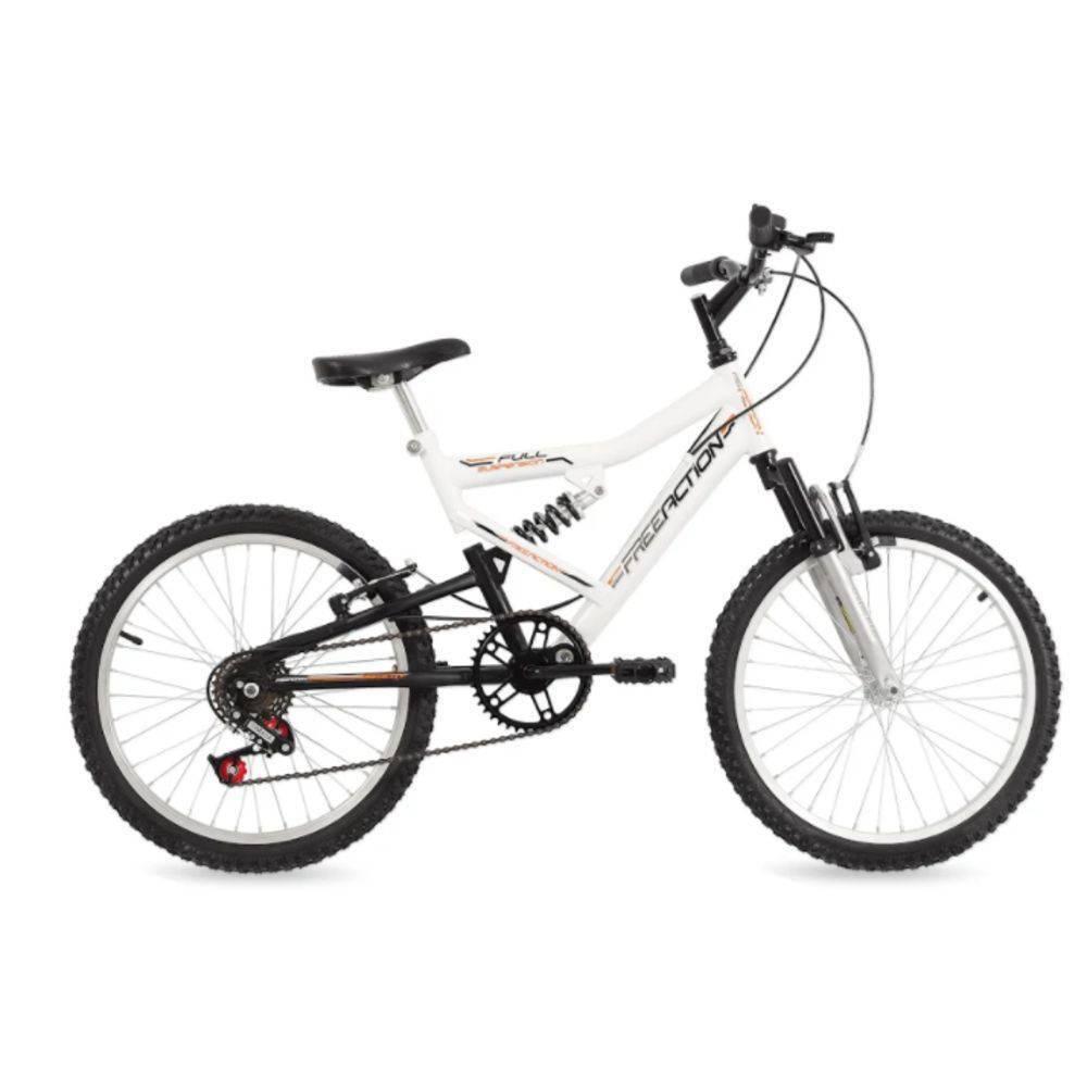 Bicicleta Free Action Aro 20 Full Fa240 Branca 04047019 - Status Bike