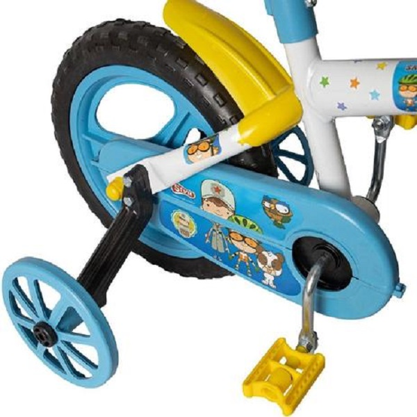Bicicleta Infantil Aro 12 Clubinho Salva Vidas Azul - Styll Baby BIK-03.023-19