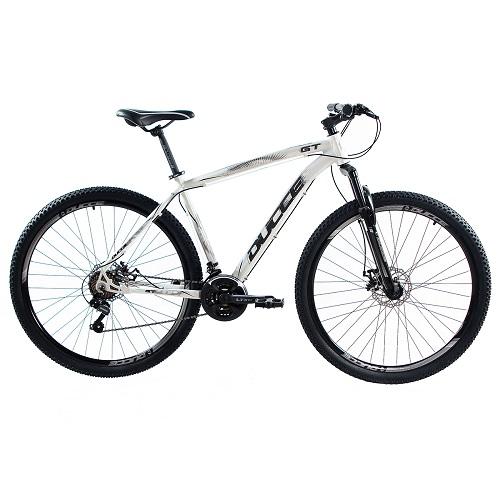 Bicicleta Vision GT X1 Aro 29 T-19 Branco/Preto Garantia Vitalícia - Ducce  117