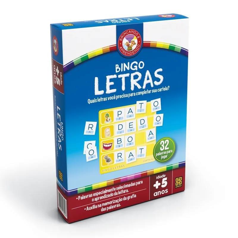 Bingo Letras Grow 2320