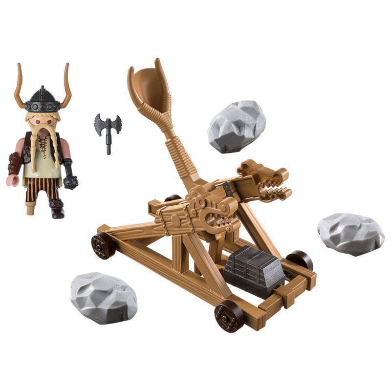 Bocão com Catapulta Como Treinar Seu Dragão Playmobil - Sunny 1779