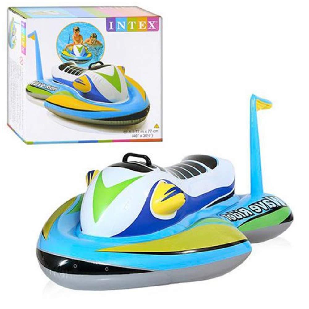 Bóia Inflável Para Piscina Jet Ski Wave Rider - Intex 57520