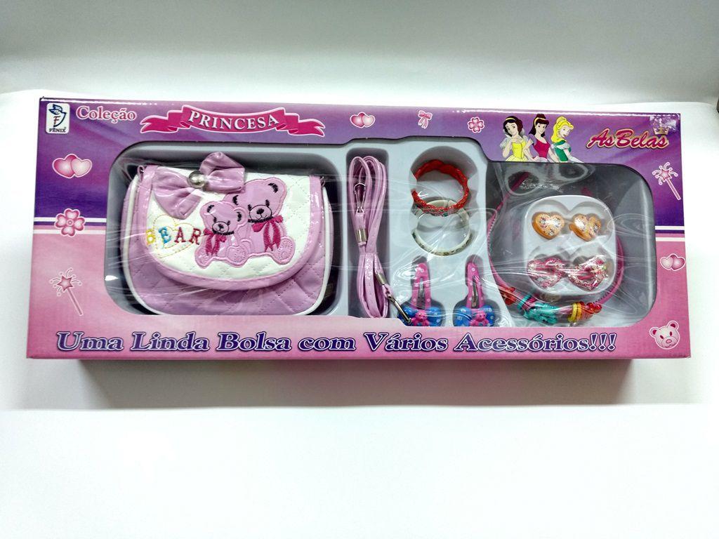 Bolsa e acessorios Coleção Princesa Ursinhos BS201 - Fenix