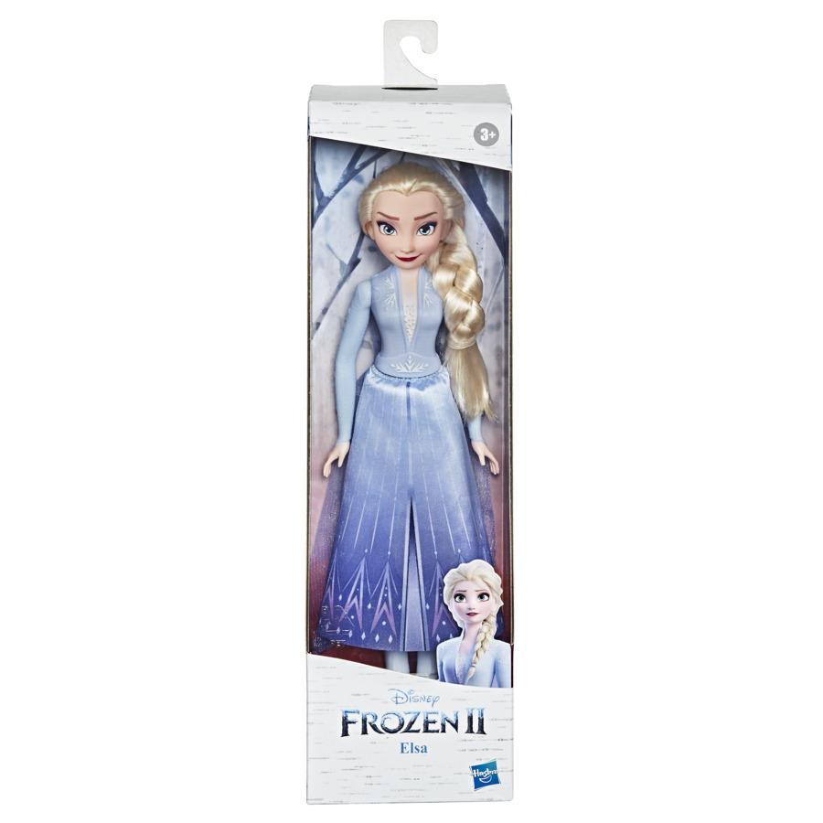Boneca Articulada Frozen 2 Elsa - Hasbro E9021/E5514
