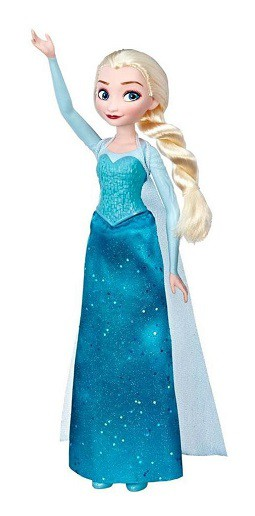 Boneca Articulada Frozen Elsa - Hasbro E6738/ E5512