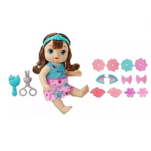 Boneca Baby Alive Cortes De Cabelo Morena E5242 - Hasbro