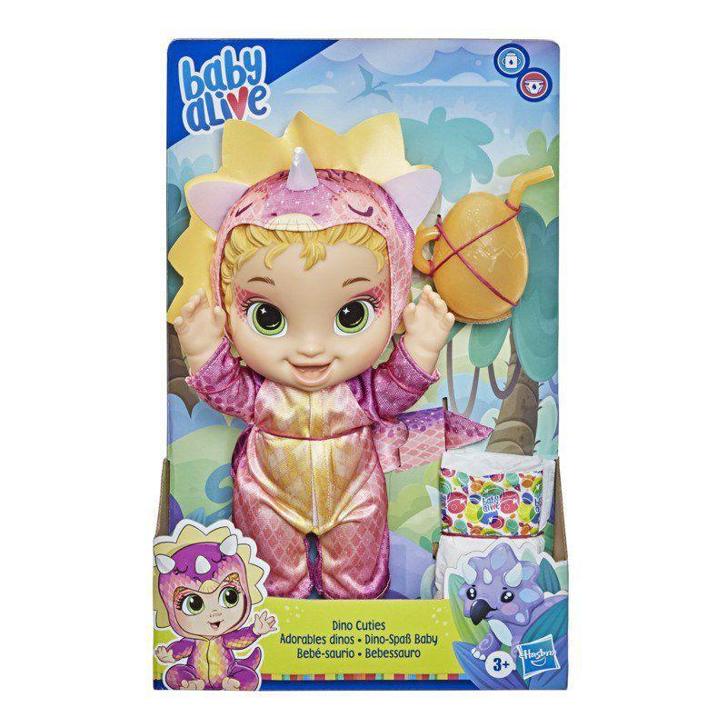 Boneca Baby Alive Dino Cuties Loira - Hasbro F0933