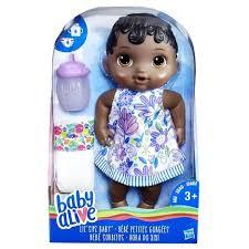 Boneca Baby Alive Hora Do Xixi Negra E0308 - Hasbro
