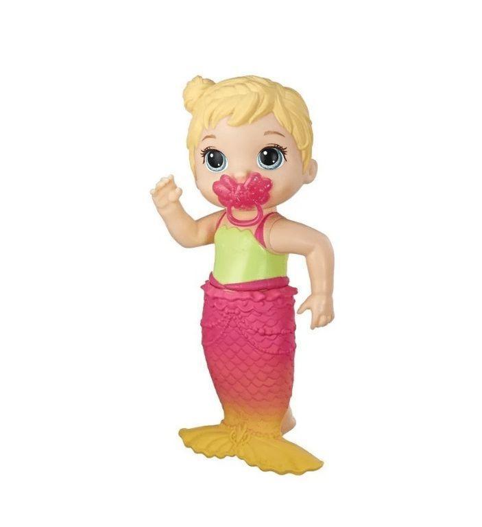 Boneca Baby Alive Linda Cauda Loira - Hasbro E5850