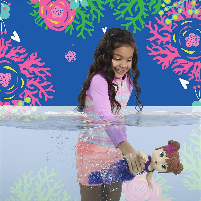 Boneca Baby Alive Linda Sereia Morena - Hasbro E3691