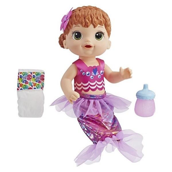 Boneca Baby Alive Linda Sereia Ruiva - Hasbro E4410