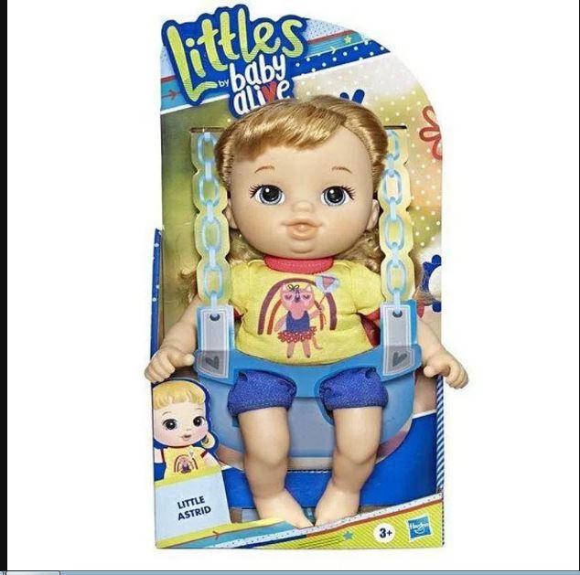 Boneca Baby Alive Littles Turminha Estilosa Astrid - Hasbro E8407