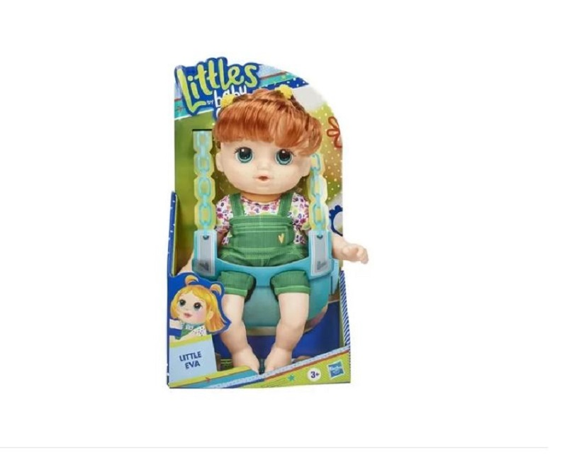 Boneca Baby Alive Littles Turminha Estilosa Eva - Hasbro E8407
