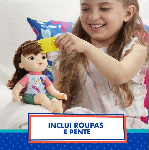 Boneca Baby Alive Littles Turminha Estilosa Maya - Hasbro E8407