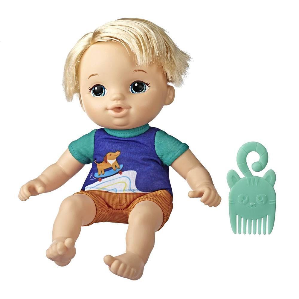 Boneca Baby Alive Littles Turminha Estilosa Zack - Hasbro E8407