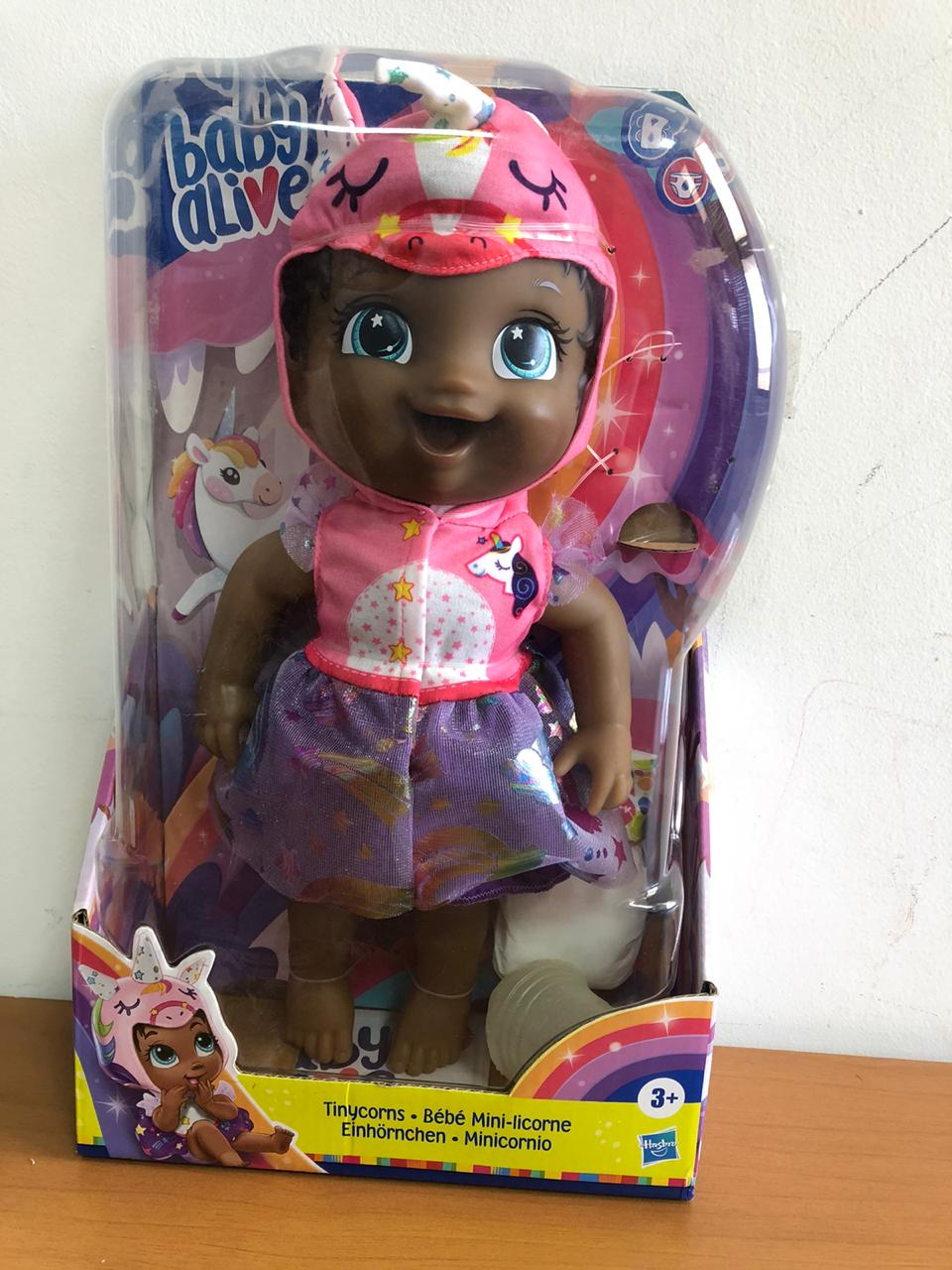 Boneca Baby Alive Tinycorns - Hasbro E9166