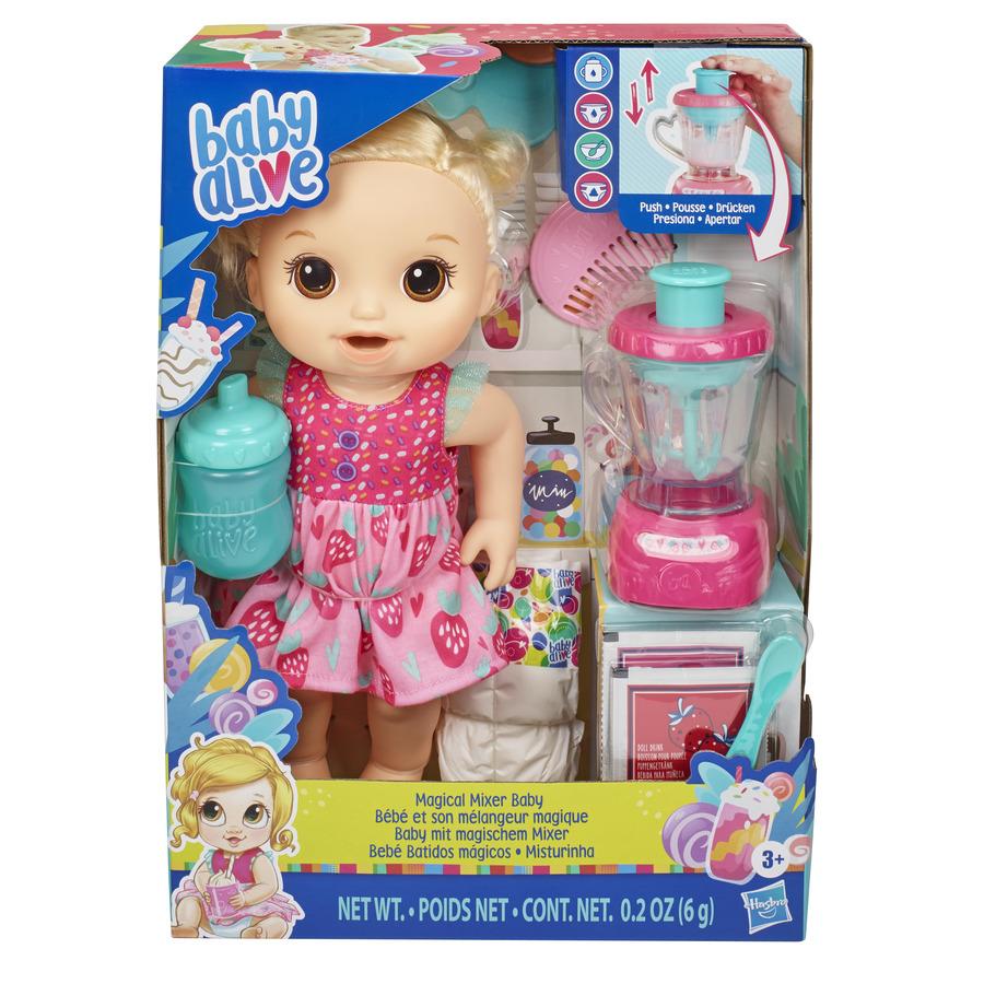 Boneca Baby Alive Vitamina de Diversão Loira Hasbro E6943