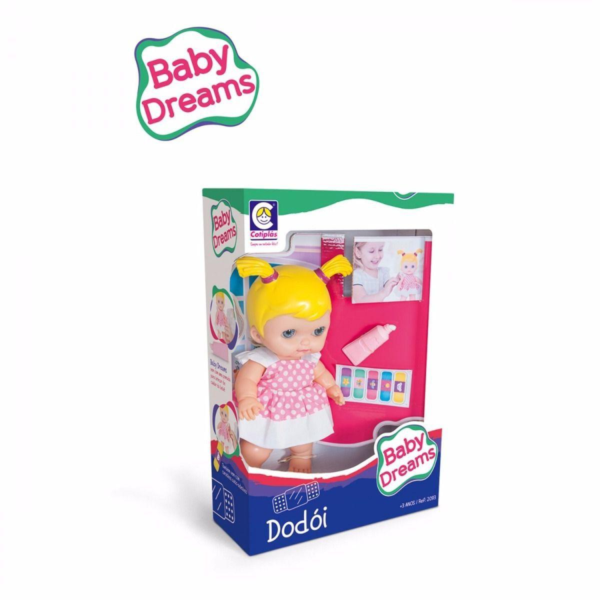 Boneca Baby Dreams Dodoi 2093 - Cotiplás